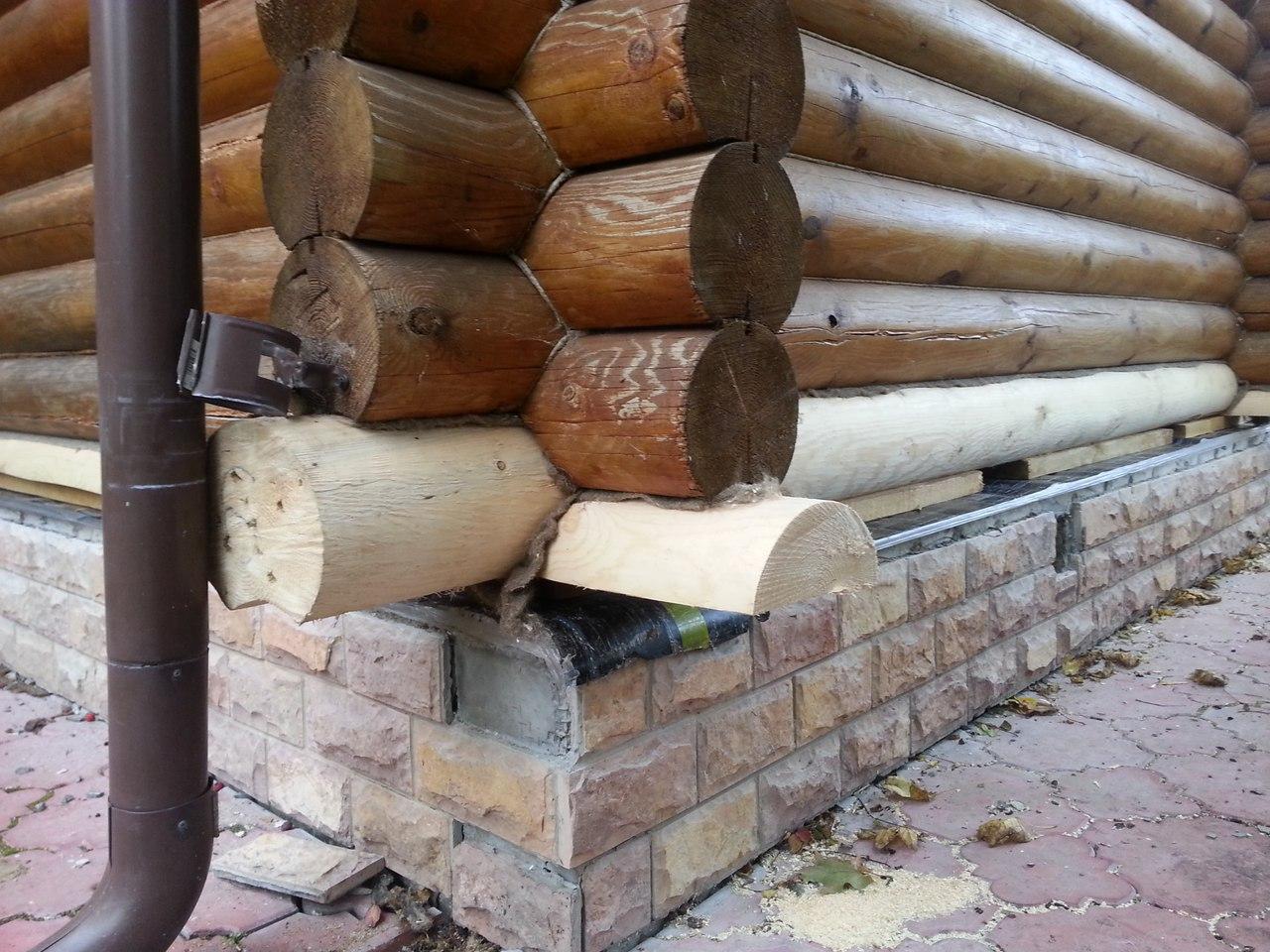Ремонт нижних венцов деревянного дома своими руками 26